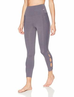 Maaji Women's Impulsive Solid High Rise 7/8th Legging