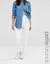 Missguided Petite Vice High Waist Super Stretch Jean