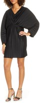 French Connection Short Long Sleeve Pleated Dress