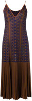 Gig - pattern knit dress - women - Polyimide - M