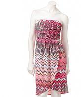 JLO by Jennifer Lopez zigzag tube dress