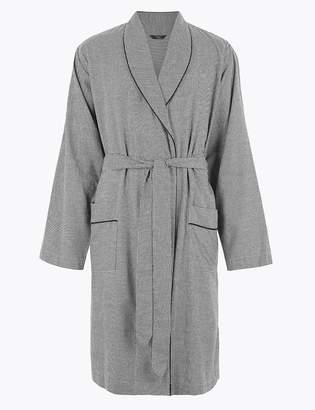Marks and Spencer Cotton Blend Supersoft Gown