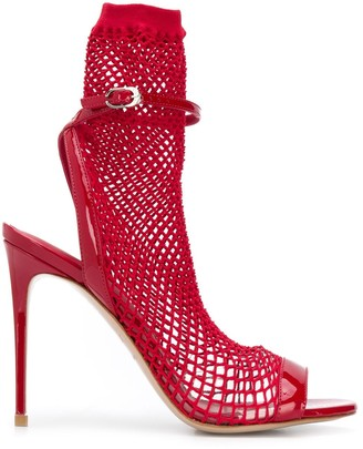Le Silla Mesh 110mm Sandals