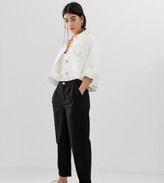 Asos DESIGN Petite chino pants-Black
