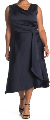 Taylor Satin Sleeveless Dress