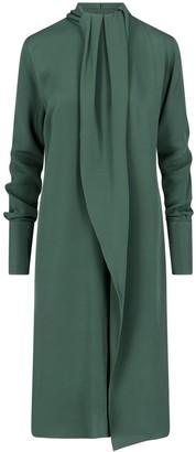 Loewe High-Neck Midi Dress