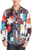 Robert Graham Men's Mojave Mirage Limited Edition Long Sleeve Button Down Shirt