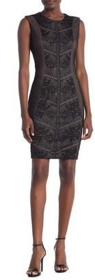 Dress the Population Tori Lace Sleeveless Dress