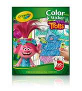 Crayola Color & Sticker - Trolls