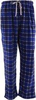Global Men's Fleece Plaid Pajama Pants