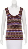 Missoni Striped Wool-Blend Top