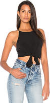 Motel Knot Your Crop in Black. - size L (also in M,S,XS)