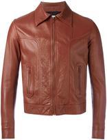 Saint Laurent zip-up leather jacket