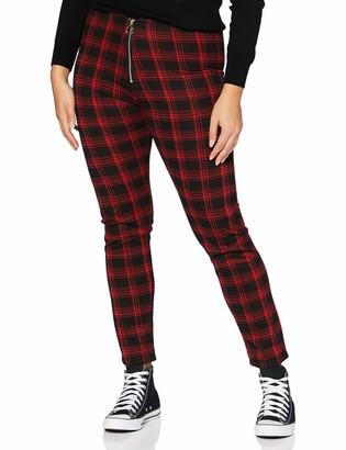 Joe Browns Women's Check Ponte Trousers Casual Pants
