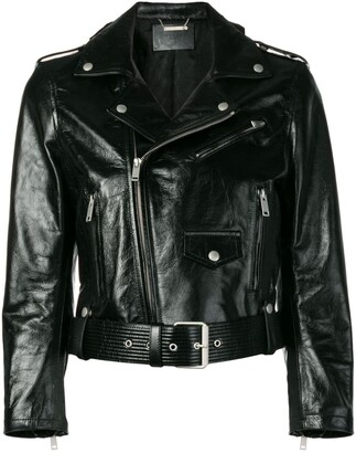 Givenchy Belted Biker Jacket