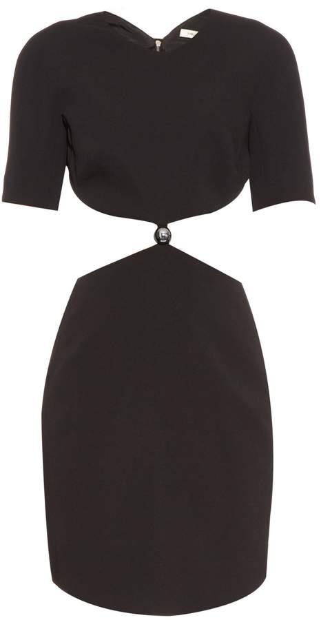 Thierry Mugler Cut-out cady dress