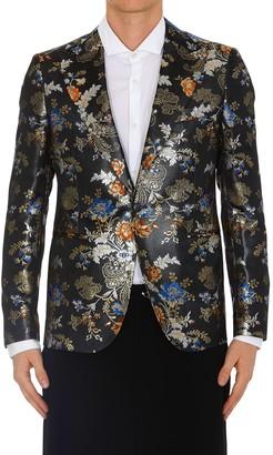 Brian Dales Floral Print Blazer