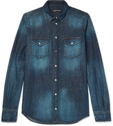 Dolce & Gabbana - Slim-fit Denim Shirt