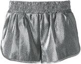 Off-White shinny shorts