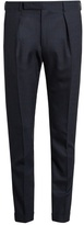 Paul Smith Slim-fit Checked Wool Trousers