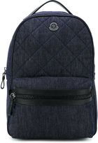 Moncler quilted backpack - kids - Cotton/Polyester/Spandex/Elastane - One Size
