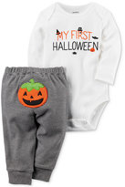 Carter's 2-Pc. First Halloween Cotton Bodysuit and Pants Set, Baby Boys and Girls (0-24 months)
