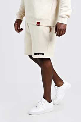 Big & Tall Regular Fit MAN Branded Short