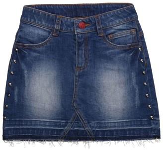 Zadig & Voltaire Embellished Denim Skirt (6-16 Years)