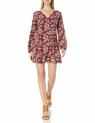 Lucy-Love Lucy Love Women's Castle Rock Floral Print Dress