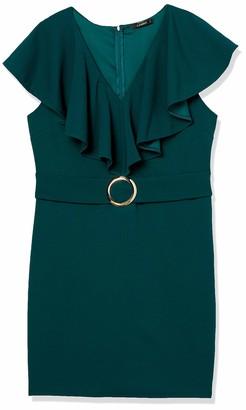 Forever 21 Women's Plus Size Flounce Mini Dress