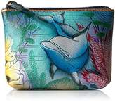 Anuschka Women's Pouchdolphin World Coin Purse