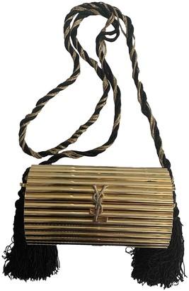 Saint Laurent Opium Gold Plastic Clutch bags