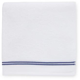 Sferra Aura Hand Towel - White/Navy