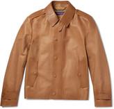 Ralph Lauren Purple Label - Woodhull Leather Jacket