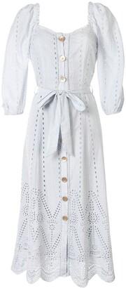 We Are Kindred Lola waist-tied midi dress
