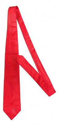 Burberry Red Cotton Ties