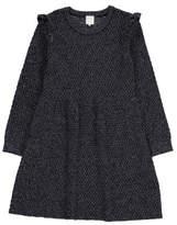 Little Karl Marc John Rialty Ruffled Sleeve Dress
