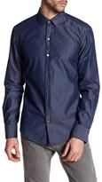 HUGO BOSS Robbie Sharp Fit Chambray Shirt