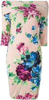 Blumarine floral print midi dress