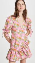 Viva Aviva Harbor V Neck Mini Dress