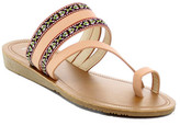 Refresh Newport Embroidered Toe Loop Sandal