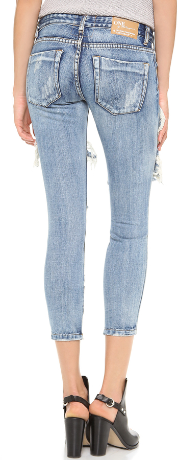 One Teaspoon Cobain Awesome Jeans