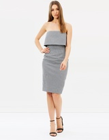 Karen Millen Mini Check Pencil Dress