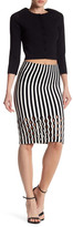 Opening Ceremony Striped Pencil Skirt