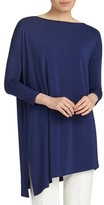 Lafayette 148 New York Women's Cultivated Crepe Jersey Asymmetrical Tunic