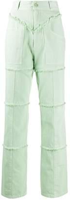Ambush high-rise straight leg trousers
