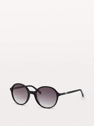 Diane von Furstenberg Maciee Round-Frame Sunglasses