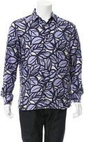 Brioni Printed Silk Shirt