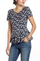 Anthropologie Pollinator Peplum Top