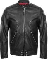 Diesel L Quad Leather Jacket Black